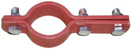 Rohrschelle DIN 3567 Form B